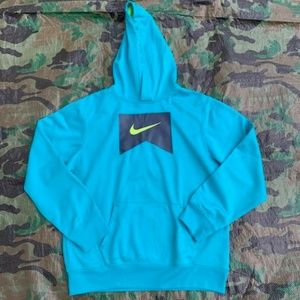 Girl's teal Nike hoodie size XL
